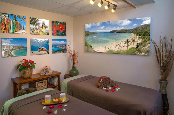 Couple 90 Minute Massage at Hawaii Natural Therapy