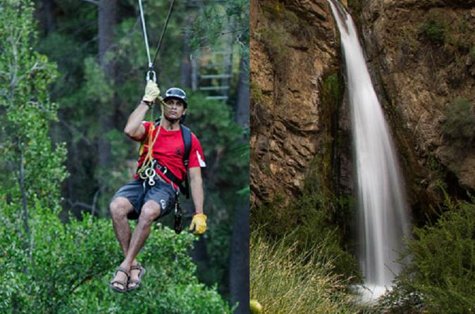Cajón del Maipo: Morning Zip Lining and Canopy and Afternoon Wine Tour & Tasting