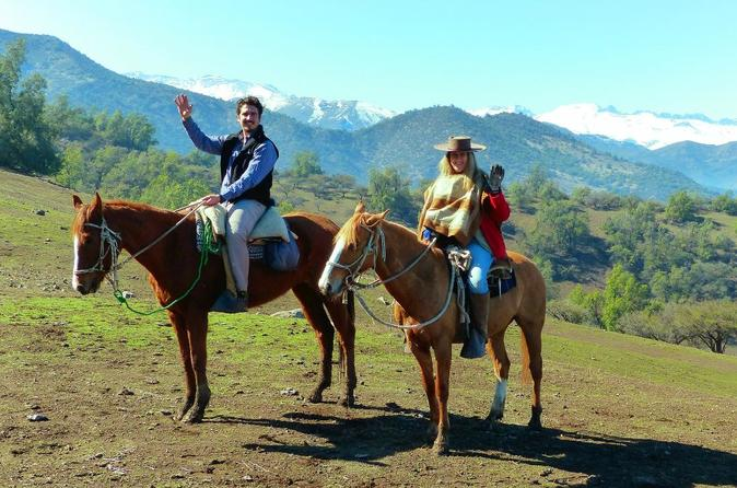 CAJON DEL MAIPO: Morning Horseback Ride and Afternoon Wine Tour & Tasting