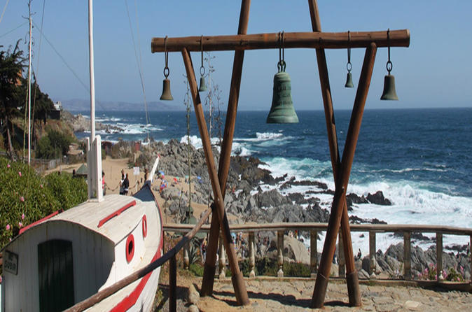 Full-Day Private Isla Negra and Pomaire Tour