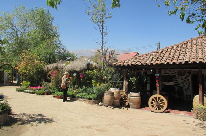 Private Full-Day Santiago and Neighorhoods Tour, El Pueblito Artisan Village