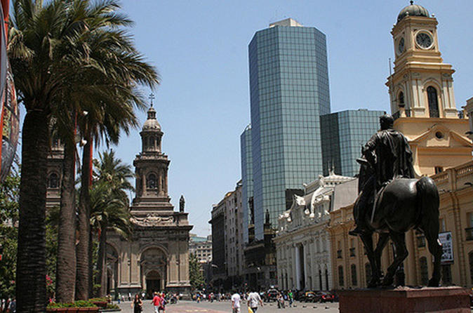 Private Full-Day Santiago Highlights City and Winery Tour