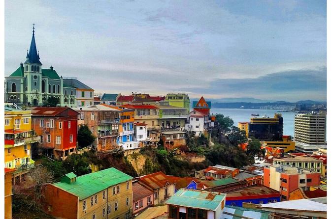 Private Full-Day Tour:  Valparaiso & Viña del Mar Extravaganza
