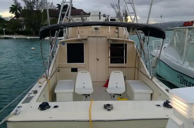 3 Hour Montego Bay Private Deep Drop Fishing Boat Rental Jamaica Inshore