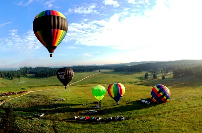 Black hills hot air balloon ride in custer 196548