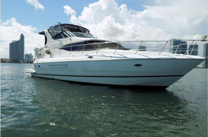 Luxury 48' Cruisers perfect for a day in Miami