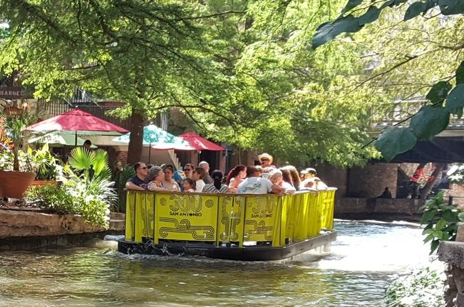 River Walk Cruise, Buckhorn Saloon & Hop-On Hop-Off Tour