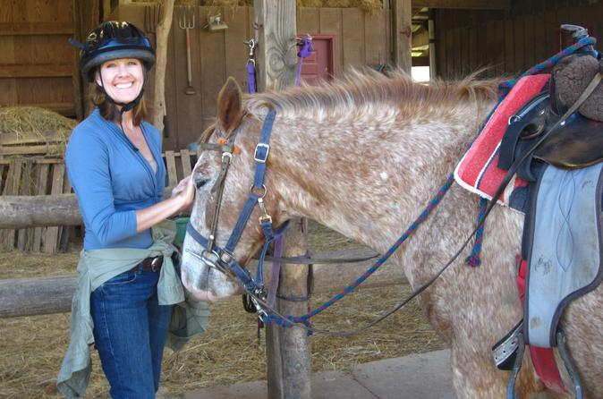Travel The Fern Forest Trail By Horseback