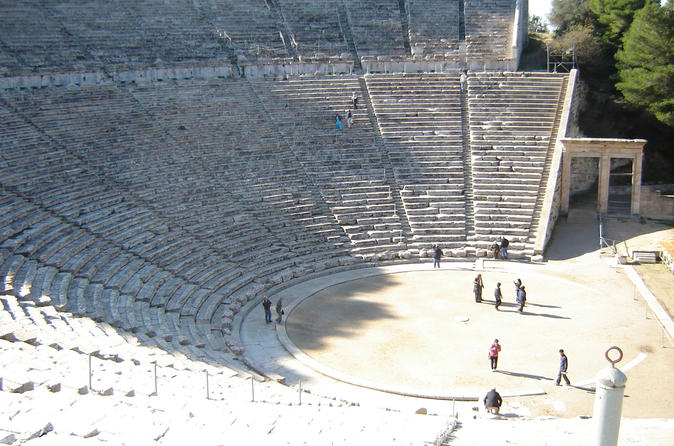 Peloponnese Highlights Full-Day Private Tour: Corinth Canal, Ancient Corinth, Mycenae, Nafplio, and Epidaurus