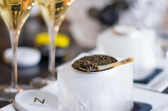 French Caviar Tasting