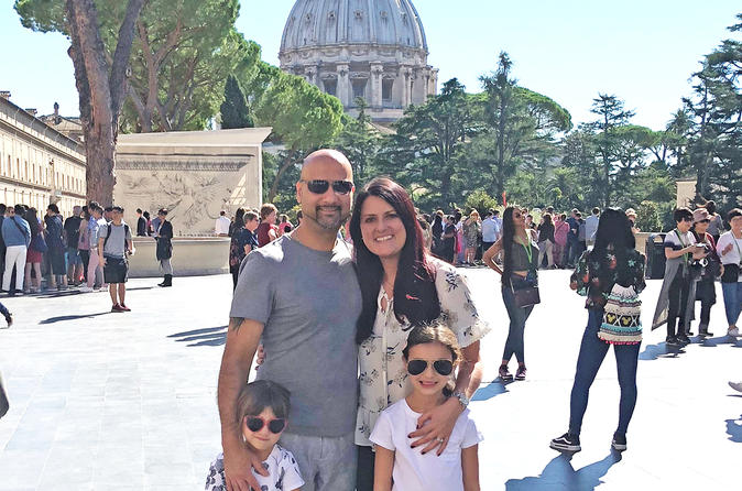 Fast Access Private Vatican & Sistine Chapel Kids & Families Tour w Hotel pickup