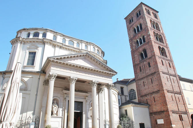 Turin Highlights Walking Guided Tour including La Consolata & Piazza San Carlo