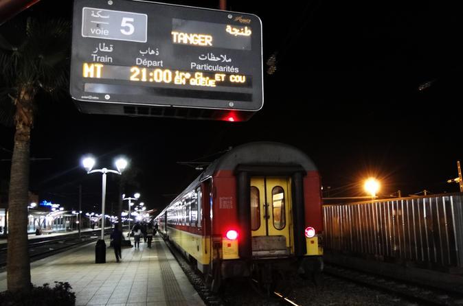 night train ticket tangier to marrakech