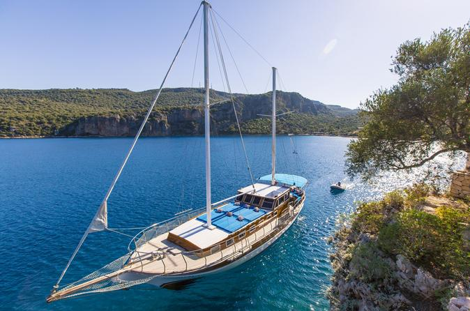 Private Boat Trip To Kekova Sunkencity