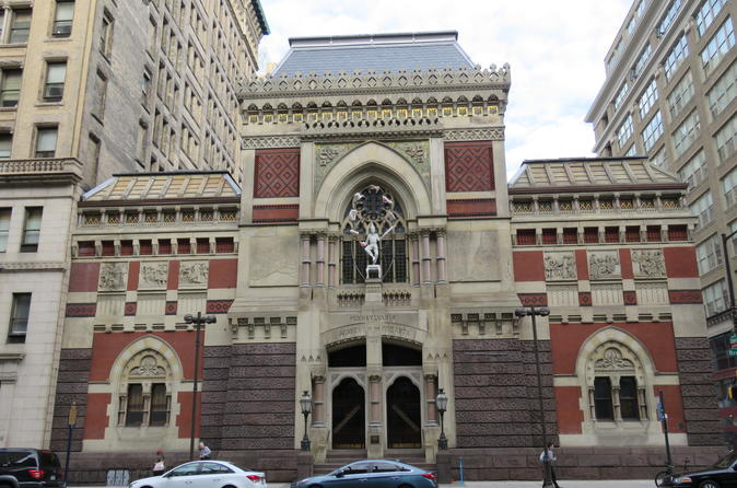 Exploring Philadelphia's Gilded Age to now Private Walking Tour