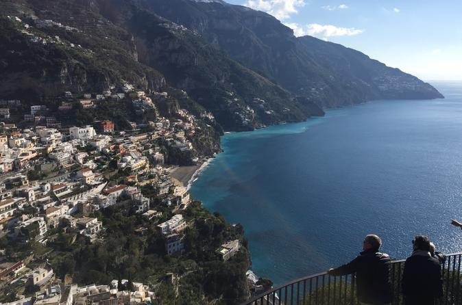 Private Transfer From Naples To Positano Or Viceversa Including 2 Hrs Stop In Pompeii