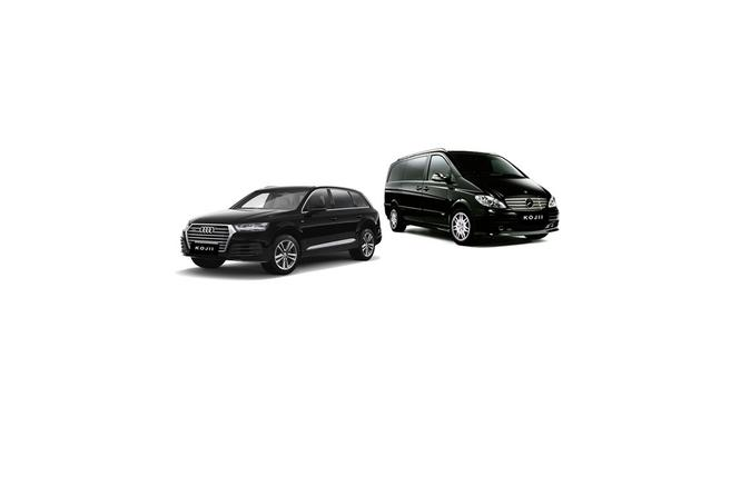 Private Luxury Transfers 1 to 7 passenger