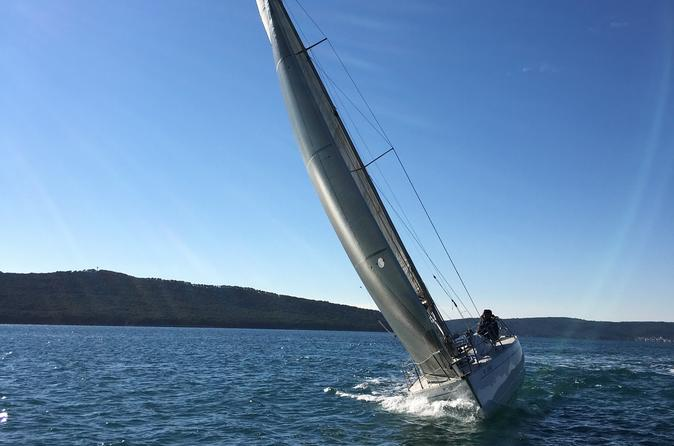 Full day small group adriatic sailing trip in split 279307