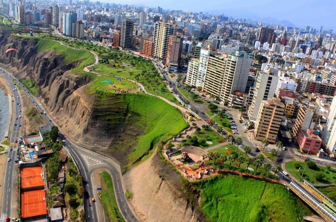 Excursão de bicicleta em Lima: Os penhascos e caminhada em El Morro