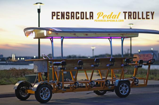 Pub crawl of pensacola by pedal trolley in pensacola 197376