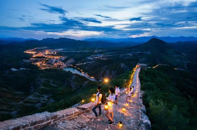 Private Beijing Gubei Water Town & Simatai Great Wall Afternoon & Night Tour