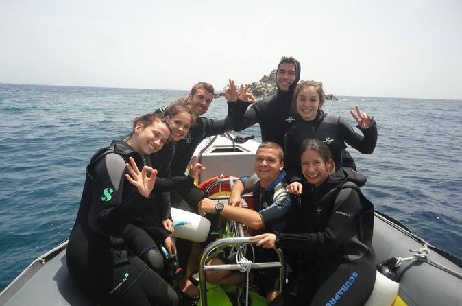 Qualified diver 1 tank dive in mykonos in m konos 199139