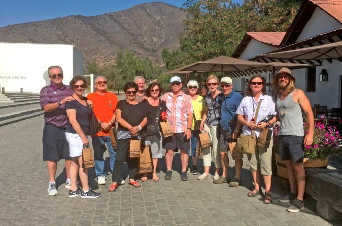 Excursão vinícola de dia inteiro ao Vale do Maipo, saindo de Santiago com Guia sommelier