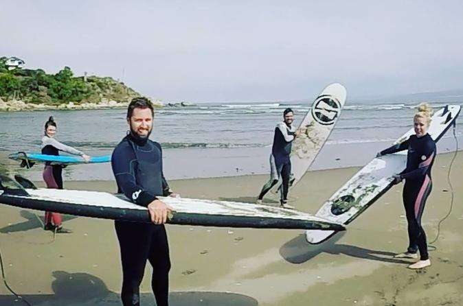 Surfing Day Trip from Santiago