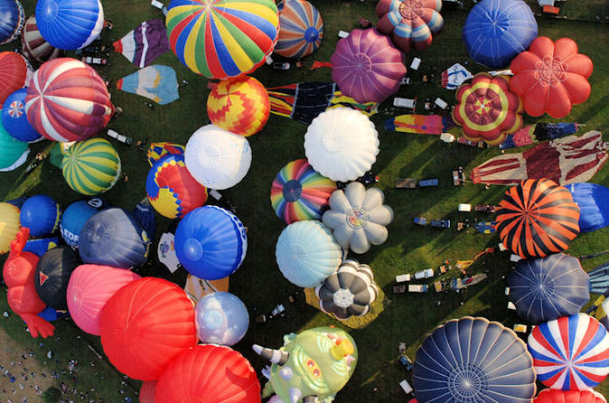 Bristol balloon fiesta champagne flight from bristol in bristol 324791