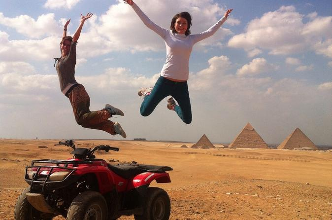 4-Hour Quad Bike Tour around Giza Pyramids from Cairo