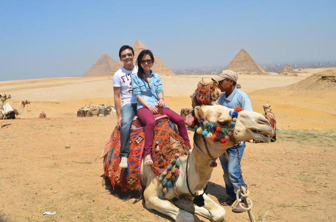 Cairo Highlights: 3-Day Guided Tour with Dinner Cruise and Camel Ride