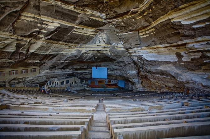 Day Trip from Cairo to El Mokkatm Mountain Cave Church
