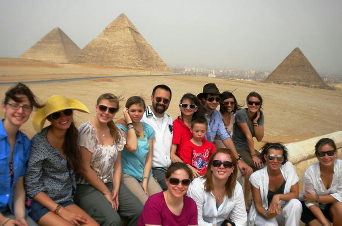 Private Guided Day Trip Egyptian Museum Giza Pyramids and Nile River in Cairo