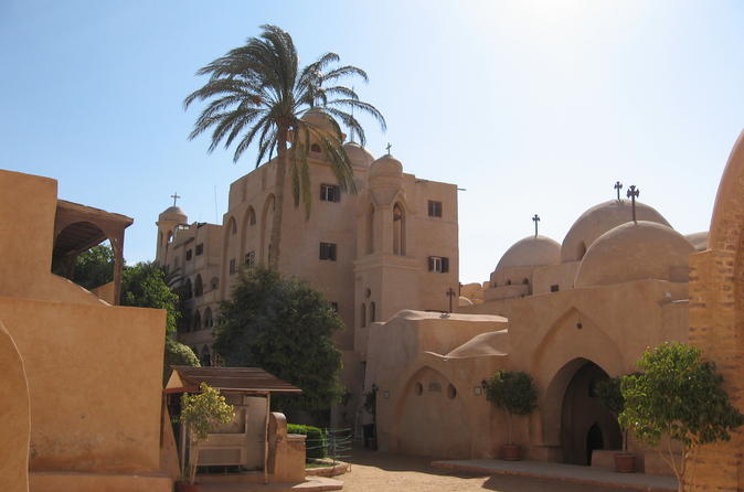 Private Guided Day Trip to Wadi El Natrun and Monasteries from Cairo