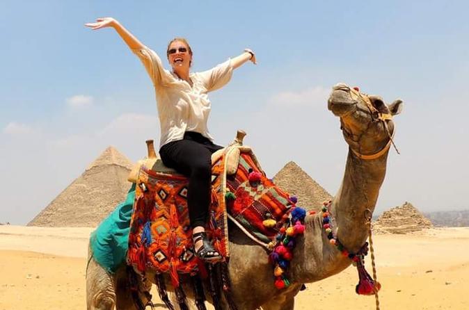 Shore Excursion: Day Tour to Giza Pyramids and Sakkara from Alexandria Port