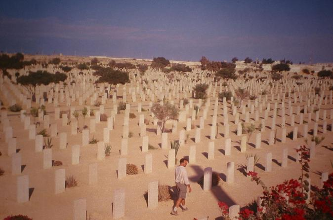 Shore Excursion: Day Trip to World War II Cemeteries in El Alamein from Alexandria Port