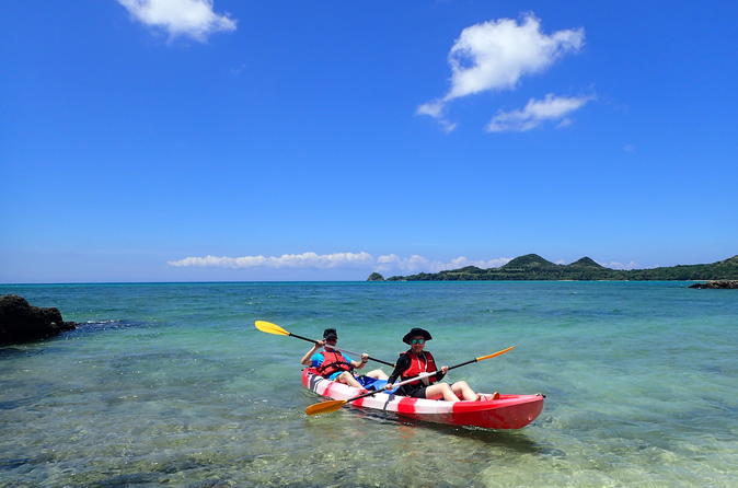 -Ishigaki Ocean- Sea Kayak Adventure with English-Speaking Guide