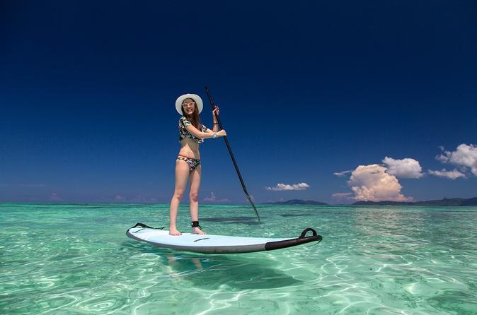 -Ishigaki Ocean-  Stand Up Paddle Boarding (SUP) with English-Speaking Guide