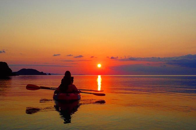 -Ishigaki Ocean- Sunset View Kayak with English-Speaking Guide