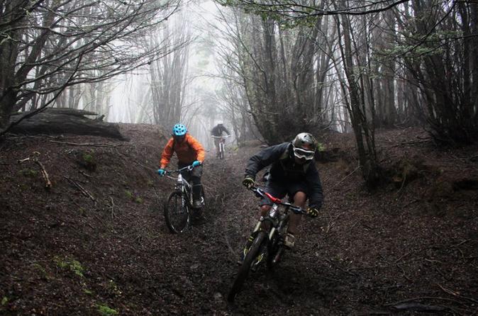Aventura de Mountain Bike em Punta Arenas
