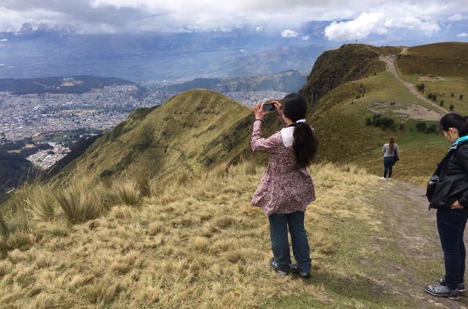Quito City Tour Including Teleférico and Horse Ride Pichincha Volcano Tour