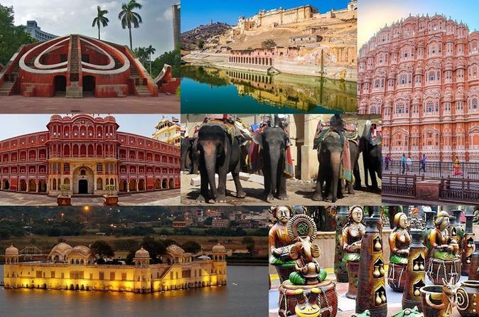 Full Day Jaipur Sightseeing Tour With Lunch
