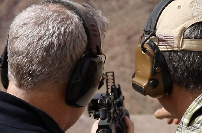 Outdoor Shooting Range Experience: Beginner, Intermediate or Advance