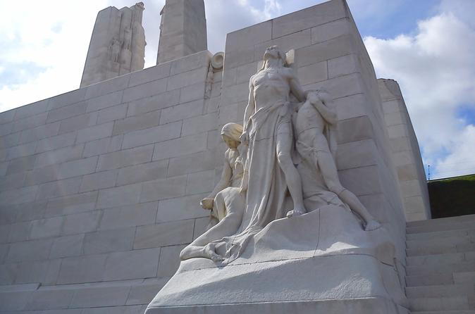 Vimy and belgium canadian battlefield tour from lille in lille 249597
