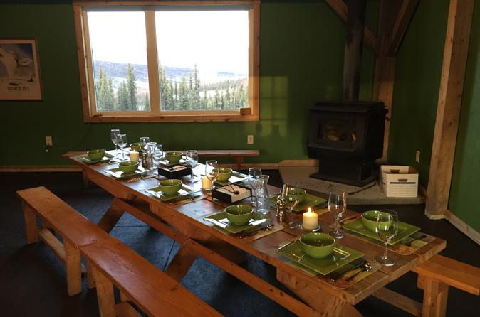 Northern lights experience and cabin dinner in fairbanks 212844