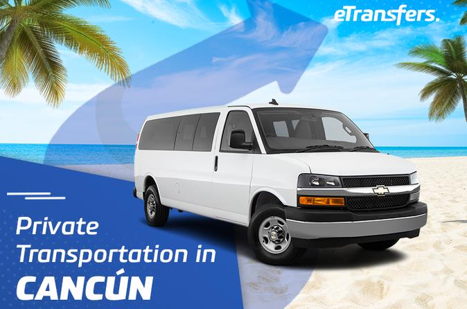 Cancun Hotel Zone Private Transportation From-To Airport