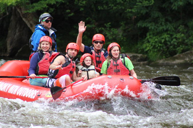 Lower Pigeon River Rafting Tour