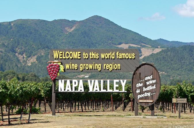 Napa and Sonoma Valley Wine Tour from San Francisco