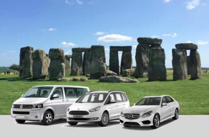 Departure Transfer: London to Southampton via Salisbury and Stonehenge