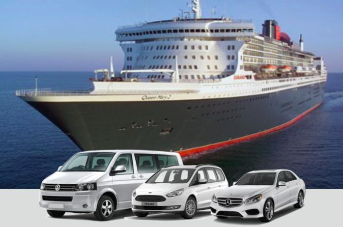 Private Arrival Transfer from Tilbury Cruise Terminal to Central London